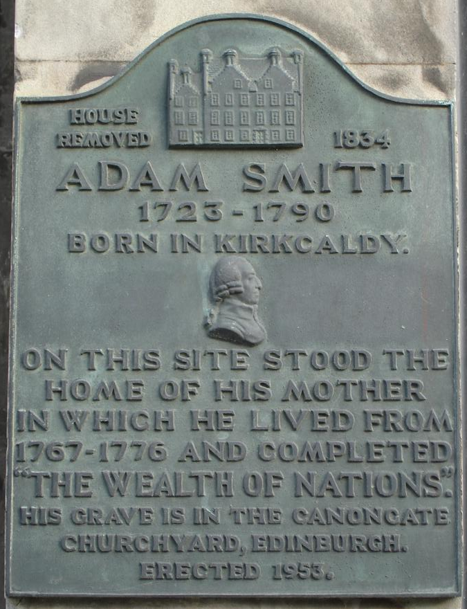 Breakingnews! Adam Smith è tra noi!