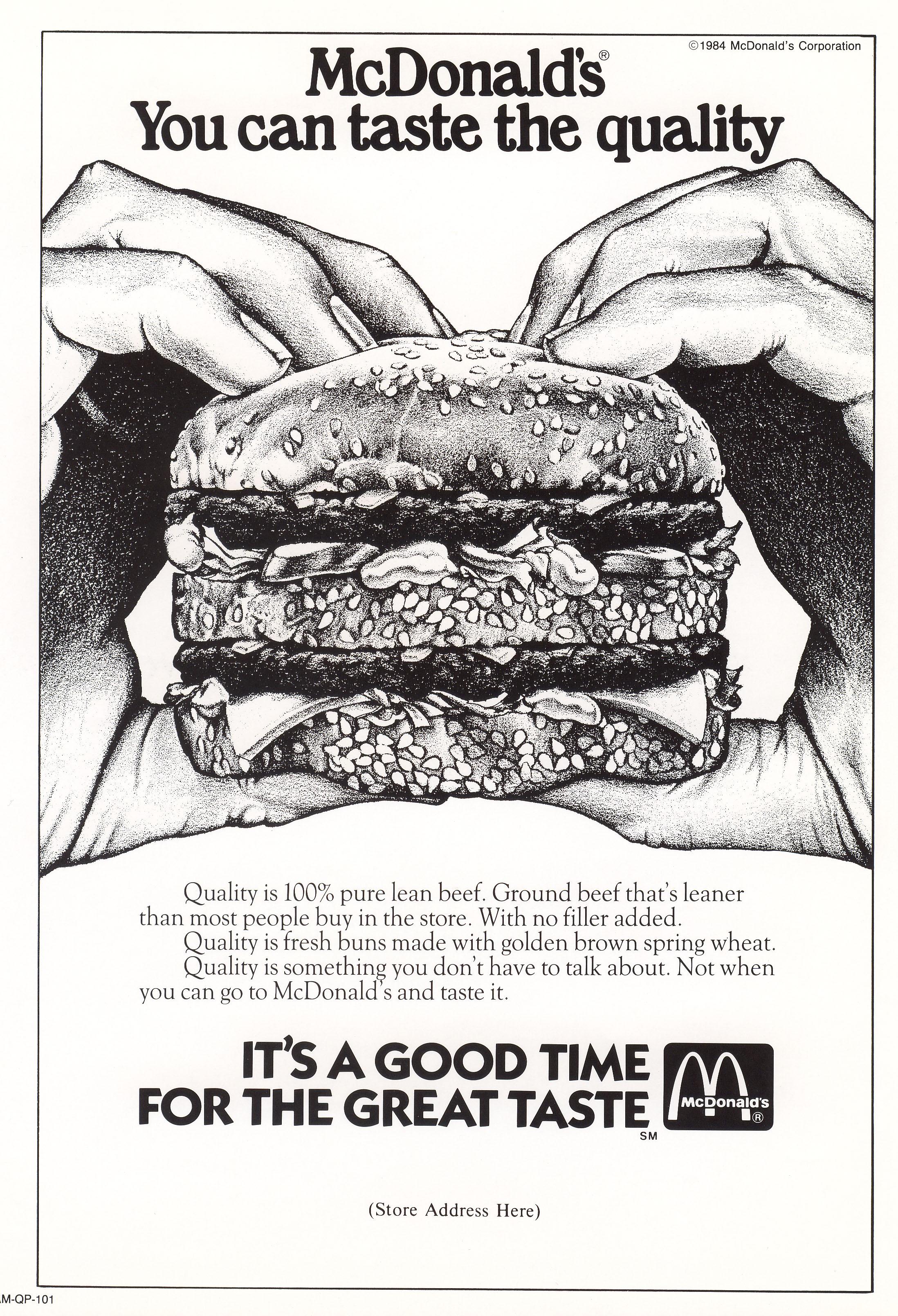 50 anni di Big Mac, il panino un po' italiano