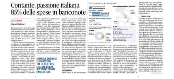 205 miliardi di euro nelle tasche degli italiani