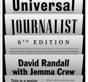 """David Randall, il giornalista che ragionava sul """"mestiere"""""""
